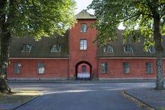 Halmstad Castle Entrance Stock Photos