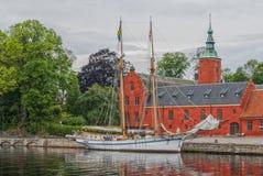 Halmstad Castle Royalty Free Stock Photography