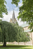 Halmstad Church in Summertime Royalty Free Stock Images