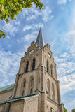 Halmstad Church in Sweden Royalty Free Stock Photos