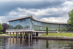 Halmstad University Library Royalty Free Stock Images