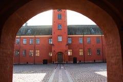 Halmstadkasteel Zweden Stock Fotografie