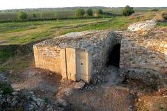 Halmyris, antic ελληνική πόλη σε Dobrogea Στοκ εικόνες με δικαίωμα ελεύθερης χρήσης