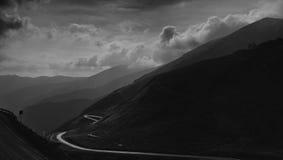 Halna autostrada Obraz Royalty Free