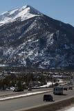 Halna autostrada w Kolorado zdjęcia royalty free