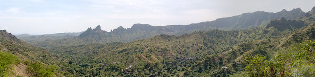 halna dolina zdjęcie royalty free