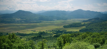 halna dolina Fotografia Stock