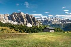 Halna dolina w Włochy alps Zdjęcia Stock