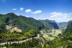 Halna droga w Wietnam Obraz Royalty Free
