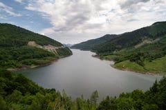 Halna jeziorna panorama Obraz Stock