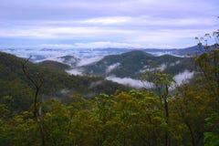 Halna mgła Obraz Royalty Free