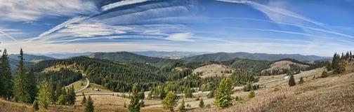 halna panorama Zdjęcie Stock