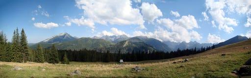 halna panorama Zdjęcia Stock