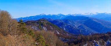 Halna panorama Zdjęcie Royalty Free