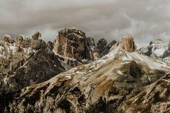 Halna panorama w dolomitach Obraz Royalty Free