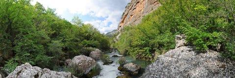 halna rzeka Obrazy Stock