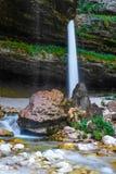 Halna rzeka w Slovenia Zdjęcia Stock