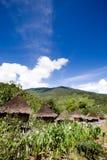 halna tradycyjna wioska Zdjęcie Royalty Free