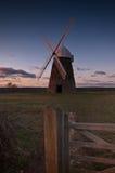 Halnaker Windmühle lizenzfreies stockfoto