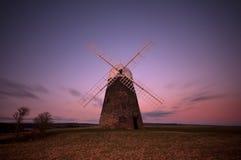 Halnaker Windmühle stockfotografie