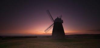Halnaker Windmühle stockbilder