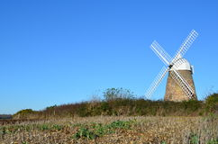 Halnaker windmill, West Sussex, England. Stock Photos