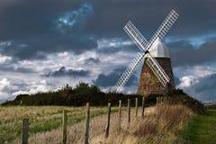 HALNAKER WINDMOLEN, DICHTBIJ CHICHESTER/UK - 25 SEPTEMBER: Halnaker Stock Afbeelding