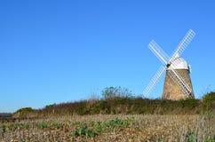 Halnakerwindmolen, West-Sussex, Engeland Stock Foto's