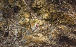 Halne skały zdjęcie stock