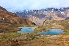 halni Himalajów jeziora Zdjęcia Royalty Free