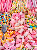 Halni karmel cukierki, Bonbons i. Fotografia Stock