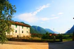 Halni krajobrazy Włochy Obrazy Royalty Free