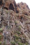 Halni krajobrazy wąwozu maska Zdjęcia Stock