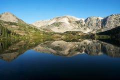 Halni odbicia przy Libby jeziorem fotografia royalty free