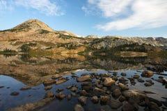 Halni odbicia przy Libby jeziorem obraz royalty free