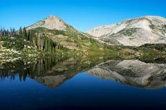 Halni odbicia przy Libby jeziorem obrazy royalty free