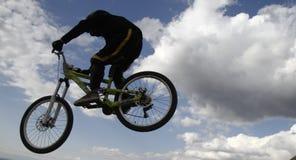 Halni rowerzyści zdjęcia stock