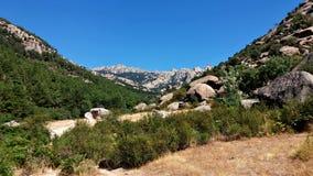 Halni ` s widoki podczas trekking przejażdżki zdjęcia stock