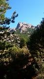 Halni ` s widoki podczas trekking przejażdżki Zdjęcie Royalty Free