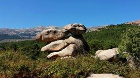 Halni ` s widoki podczas trekking przejażdżki Obrazy Royalty Free