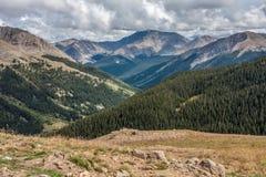 Halni szczyty od niezależności przepustki zdjęcie royalty free