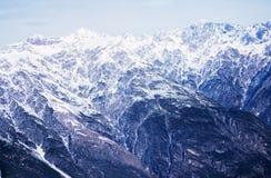 Halni szczyty w Alps Obraz Royalty Free