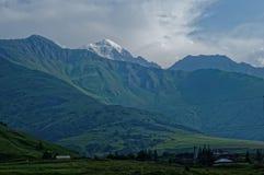 Halni szczyty Wielki Kaukaz Fotografia Stock
