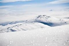 halny śnieżny wierzchołek Obraz Royalty Free