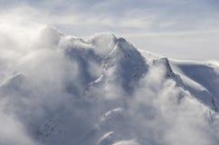 Halny śnieżyca Zdjęcia Royalty Free