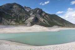 Halny Abraham Banff jeziorny park narodowy Canada Zdjęcia Stock