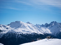 Halny Alpejski krajobrazowy Europa austriak Fotografia Royalty Free