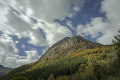Halny alps lanscape Obrazy Royalty Free
