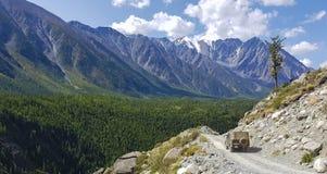 Halny Altai góry jezioro Obrazy Royalty Free