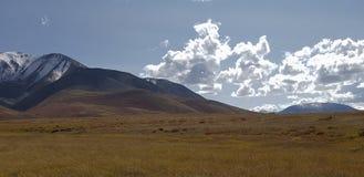 Halny Altai góry jezioro Fotografia Stock